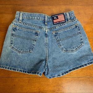 Polo Jean Co Ralph Lauren vintage jean shorts 8